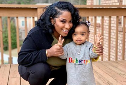 Toya Johnson Could Not Be Prouder Of Her Daughter, Reign Rushing