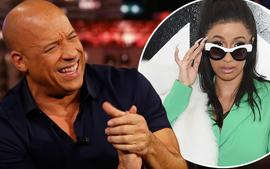 Vin Diesel Drops Important News About Cardi B - See The Video