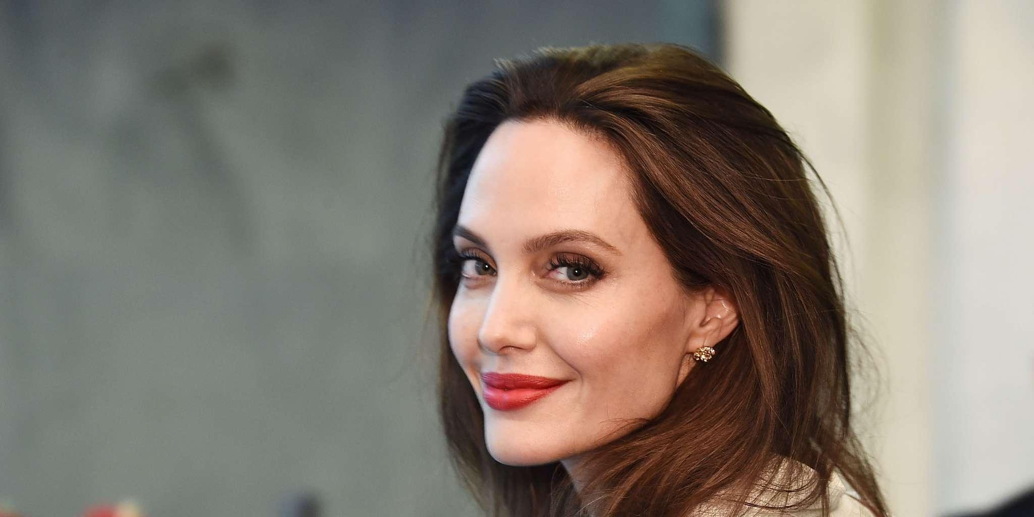 Angelina Jolie - Inside The Sweet Surprise Her Kids Had For Her Birthday!