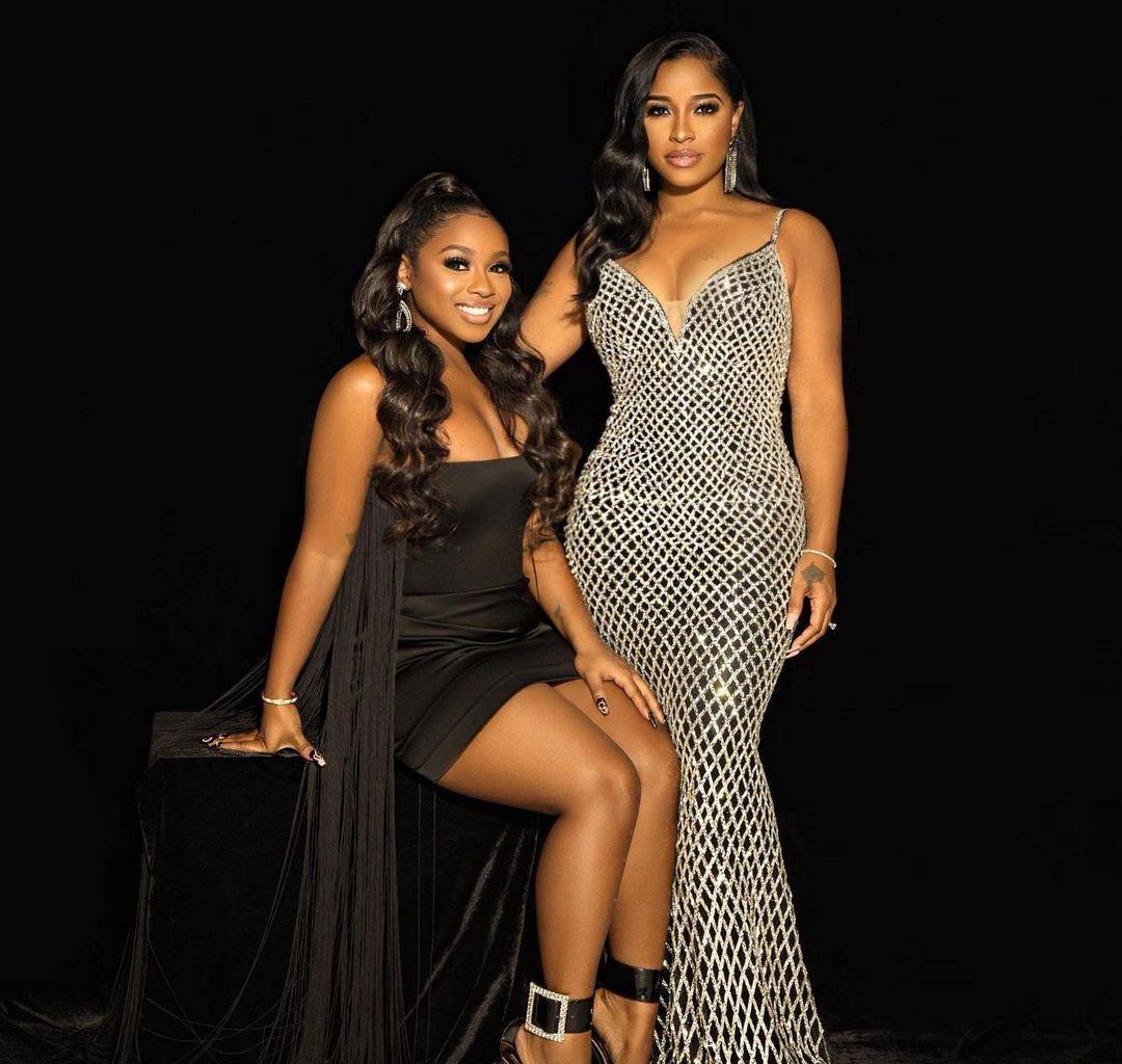 Toya Johnson's Video Featuring Her Daughters Has Fans Crazy With Excitement