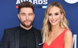 Chris Lane Talks Favorite Part Of Being A New Dad And Gushes Over Wife Lauren Bushnell's Skills As A New Mom!