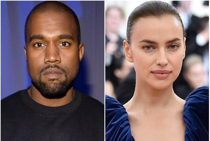 Kanye West Reportedly Dating Irina Shayk 3 Months After Kim Kardashian Divorce - 'They're Together!'