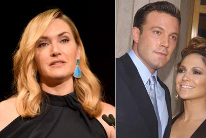 Kate Winslet Hilariously Reacts To Question About Jennifer Lopez And Ben Affleck's Reunion