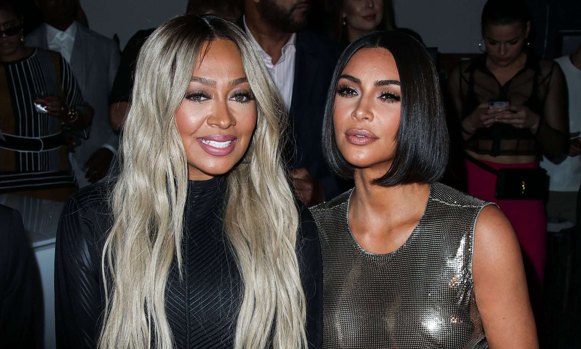 KUWTK: Kim Kardashian and La La Anthony leaning on each other in the middle of their divorces, here's how!