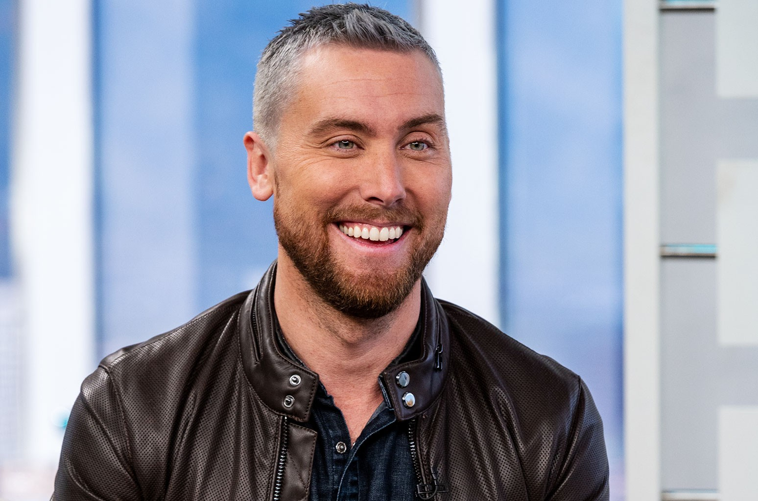 Lance Bass talks about becoming the father of twins soon and admits he's 'terrified'