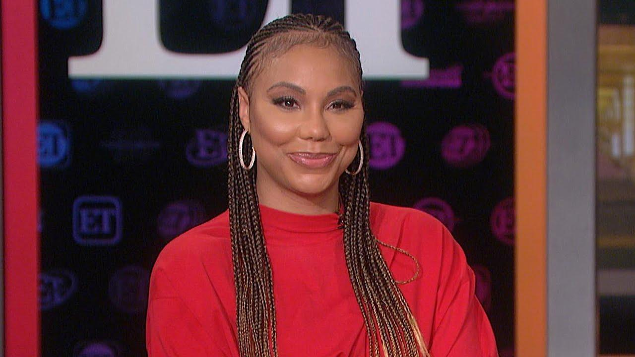 Tamar Braxton Flaunts Her Party Mood For Her Son's Birthday