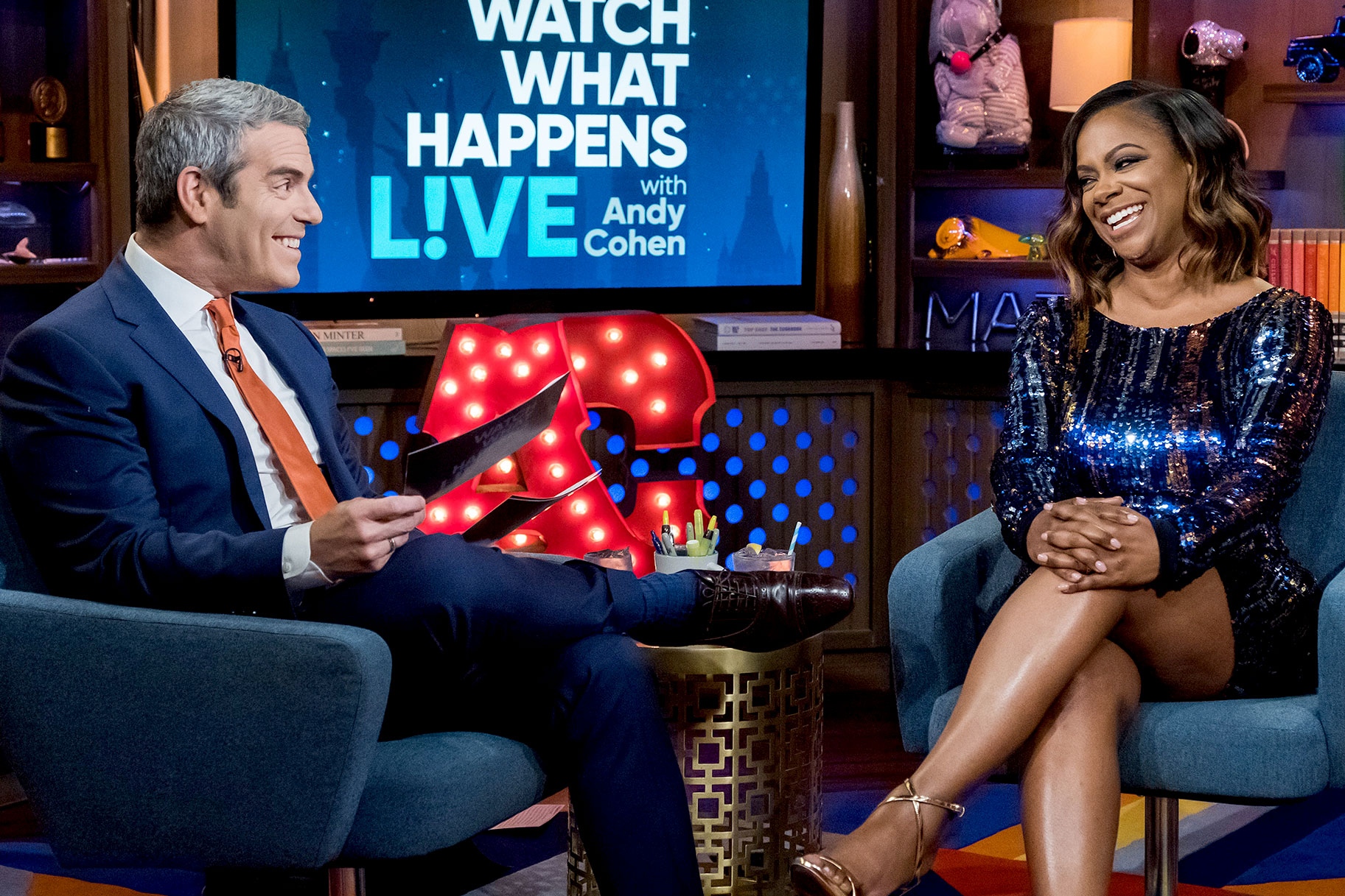 Kandi Burruss's photo for Andy Cohen's birthday will make you smile
