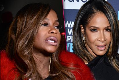 Phaedra Parks Poses With Sheree Whitfield And The Ladies Are Glowing