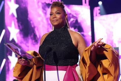 Queen Latifah Gets Emotional During Touching Acceptance Speech At The BET Awards!