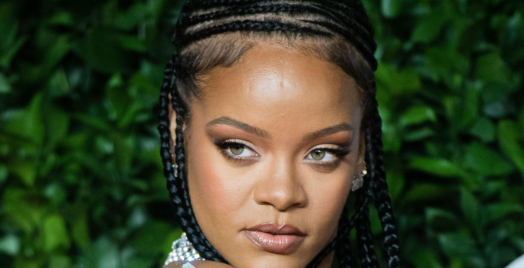 Rihanna Looks Sultry And Mysterious In A Sheer New Lingerie Set From Her Collection - Check It Out!