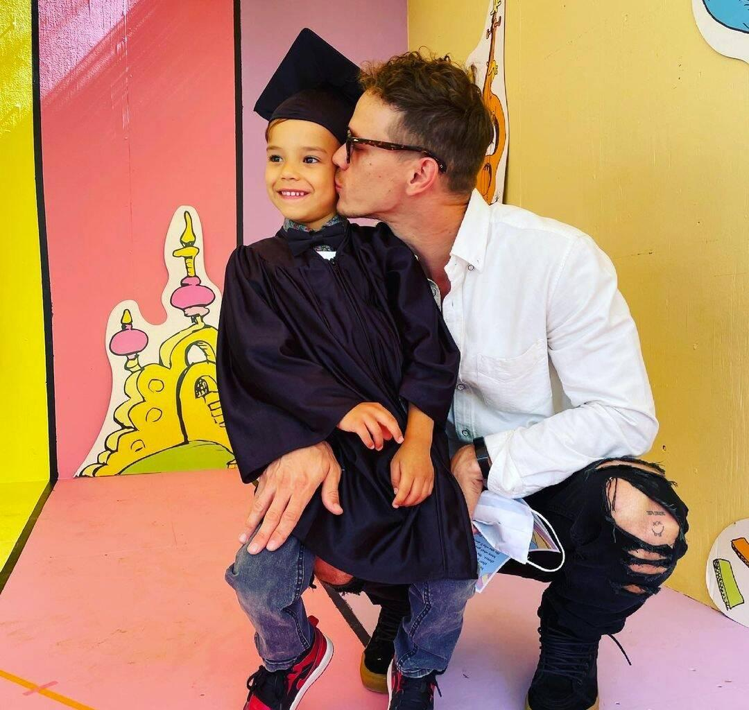 Naya Rivera's Ex Ryan Dorsey Posts Adorable Pic Of Son Josey In Tiny Robe And Cap After Graduating Pre-Kindergarten!