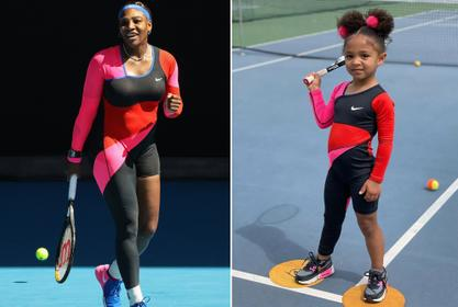 Serena Williams' Daughter Looks Adorable Posing With Her Favorite Doll - Check Out The Cute Pic!