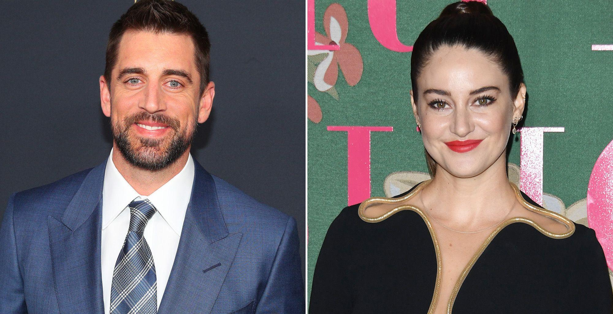 Shailene Woodley Says That She And Fiance Aaron Rodgers 'Were Meant To Be Together' And Explains Why They Moved In Together 'Right Away!''