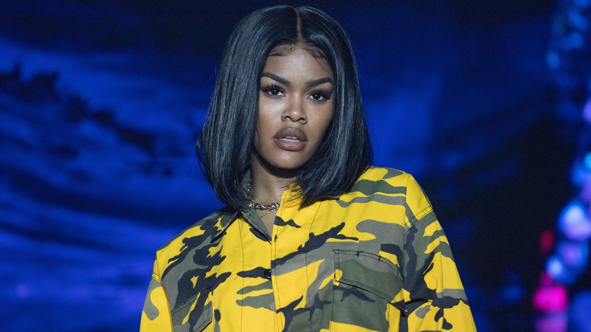 Teyana Taylor is the first black woman named as the sexiest woman in the world
