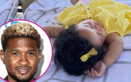 Usher Posts Rare Picture Of His Adorable Daughter Sovereign - 'Caption This'