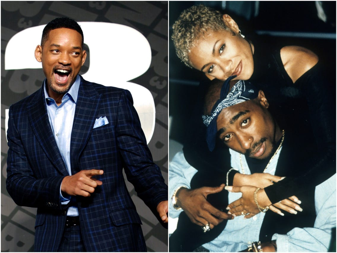 Will Smith teased and misled by fans after his wife Jada Pinkett Smith shared a Tupac poem