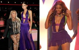 Zendaya Steals The Show In Beyonce's Iconic 2003 Dress At The BET Awards!