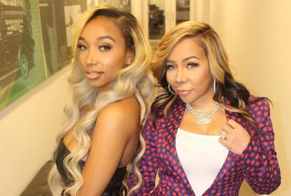 Tiny Harris Shows Off An Amazing Photo Of Zonnique Pullins And Her Daughter