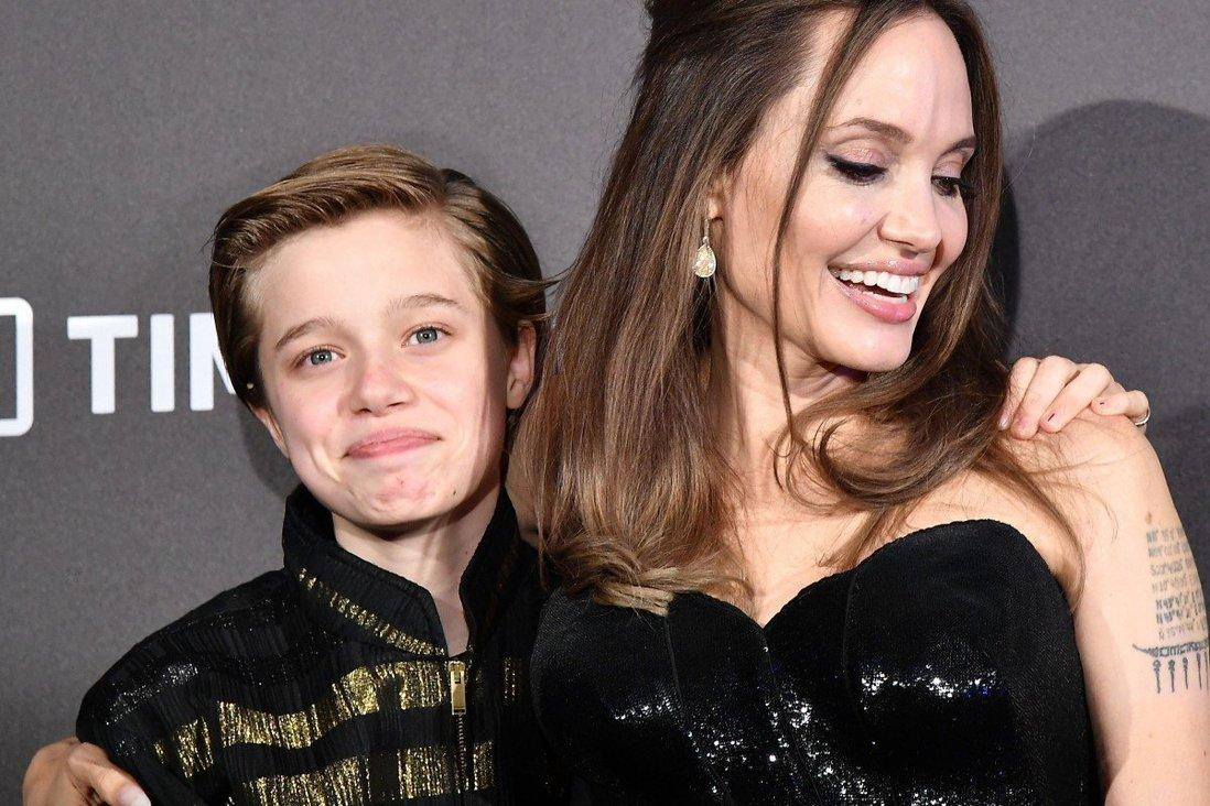 Angelina Jolie's Daughter Shiloh Looks Taller Than Her And All Her Siblings In New Paparazzi Pics!