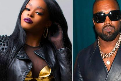 Azealia Banks Drops Her New Album Cover - It Involves Kanye West!