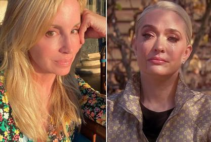 Camille Grammer Drags Erika Jayne For Shedding Tears On RHOBH Over Her Divorce And Legal Issues - Suggests She Was Fake-Crying!