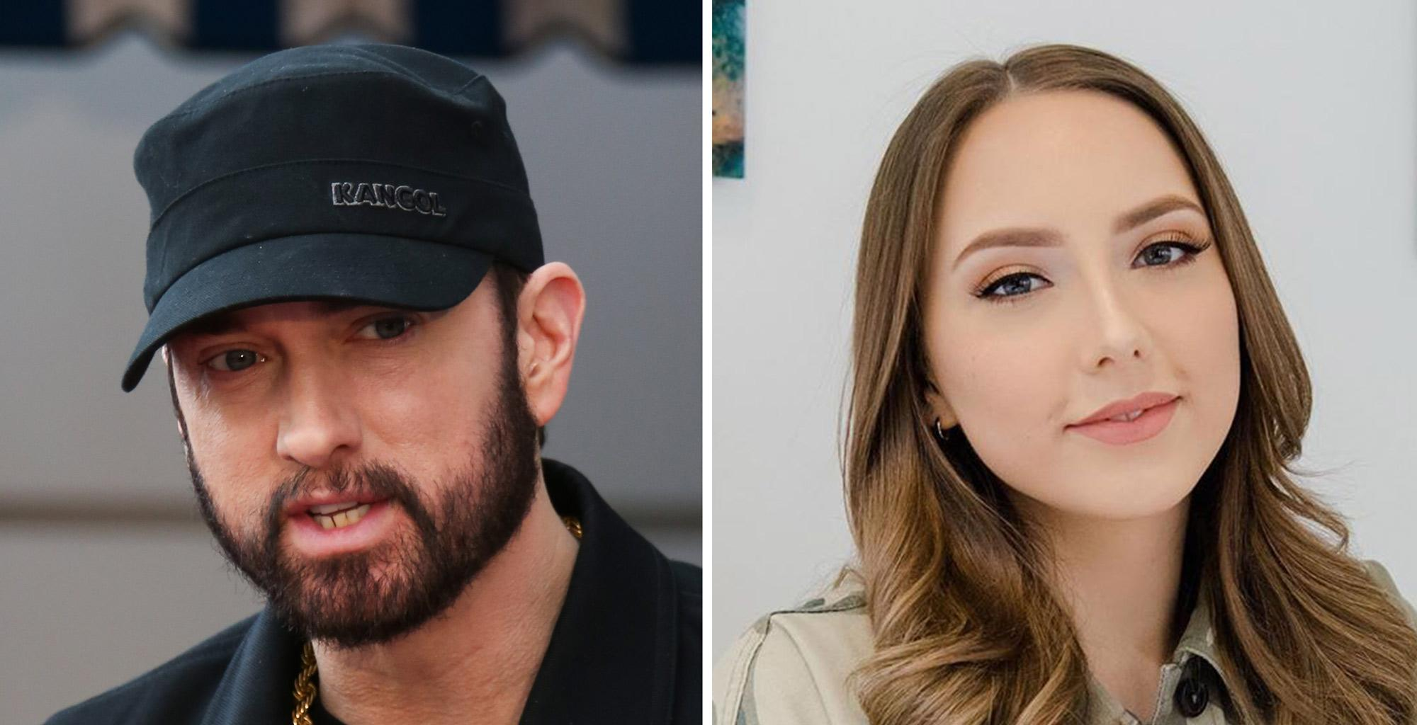 Eminem's Daughter Hailie Rocks Crop Top While Sipping A Cocktail - Check Out The Stunning Pics!