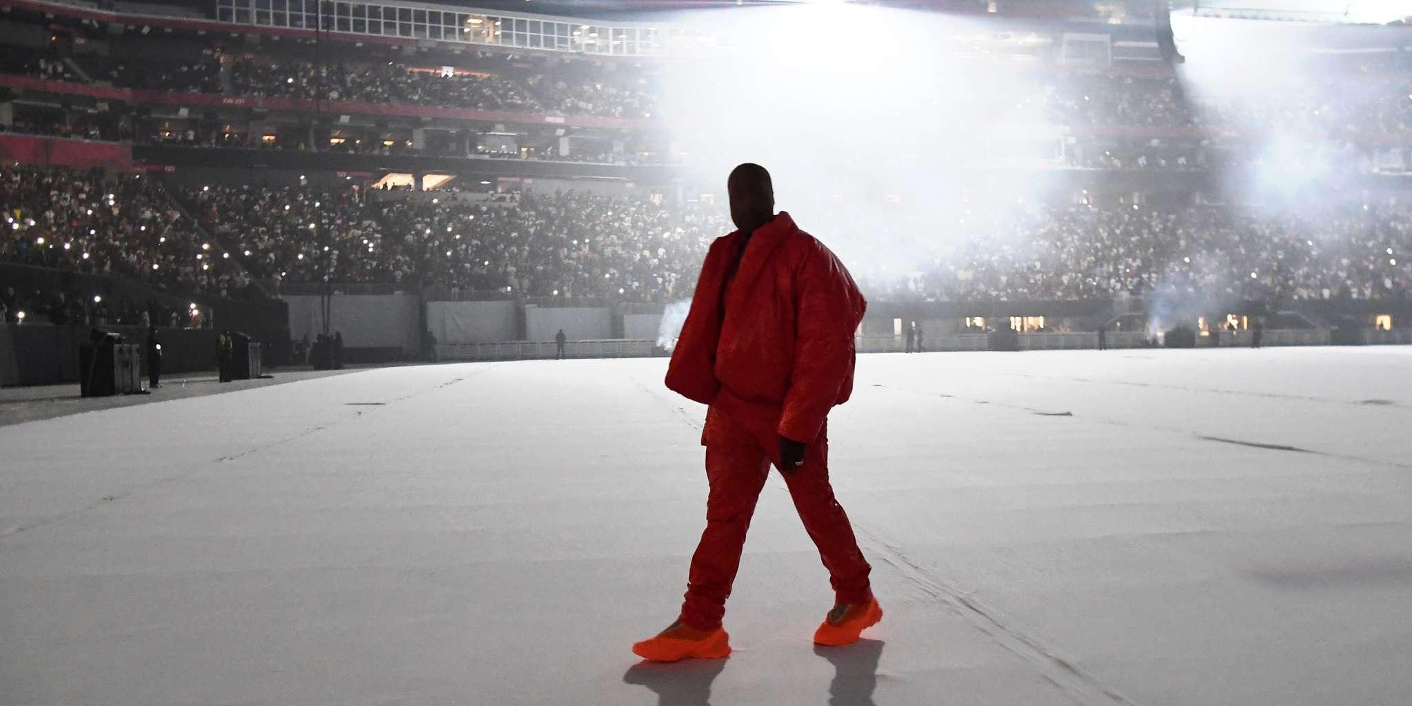 Kanye West Breaks Apple Music Live-Streaming Record For DONDA