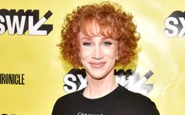 Kathy Griffin Emotionally Addresses The Hate Over Her Curly Hair!