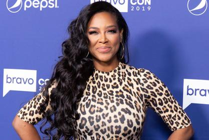 Kenya Moore Impresses Fans With Her Juicy Curves - See Her Appealing Video