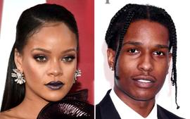 Rihanna And ASAP Rocky Pack Some Sweet PDA While Working On New Joint Project - Pics!