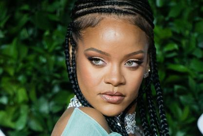 Rihanna Looks Sultry In Pride-Themed Mesh Ensemble From Her Savage x Fenty Line