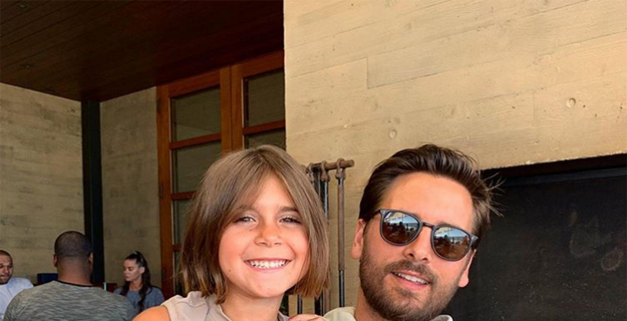 Scott Disick's Latest Pic Of Daughter Penelope Has The Internet Very Confused - So Who's 'Megan?'