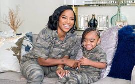 Toya Johnson Shares A Cute Video Featuring Her Daughter, Reign Rushing