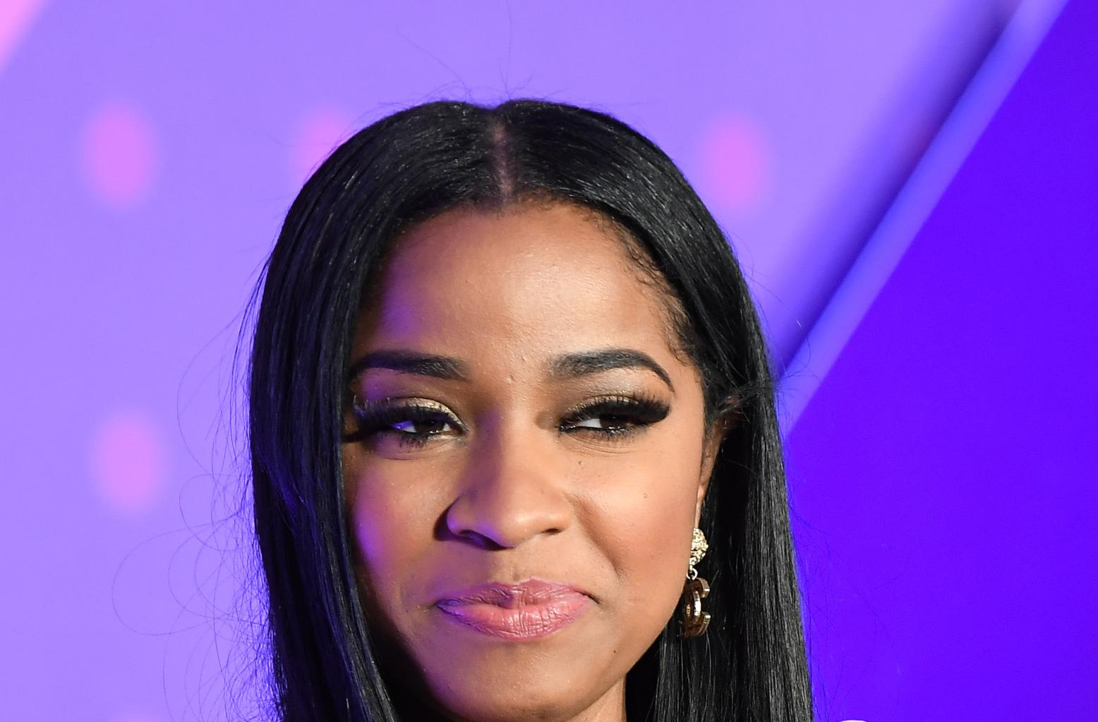 Toya Johnson Looks Gorgeous In This Pink Outfit