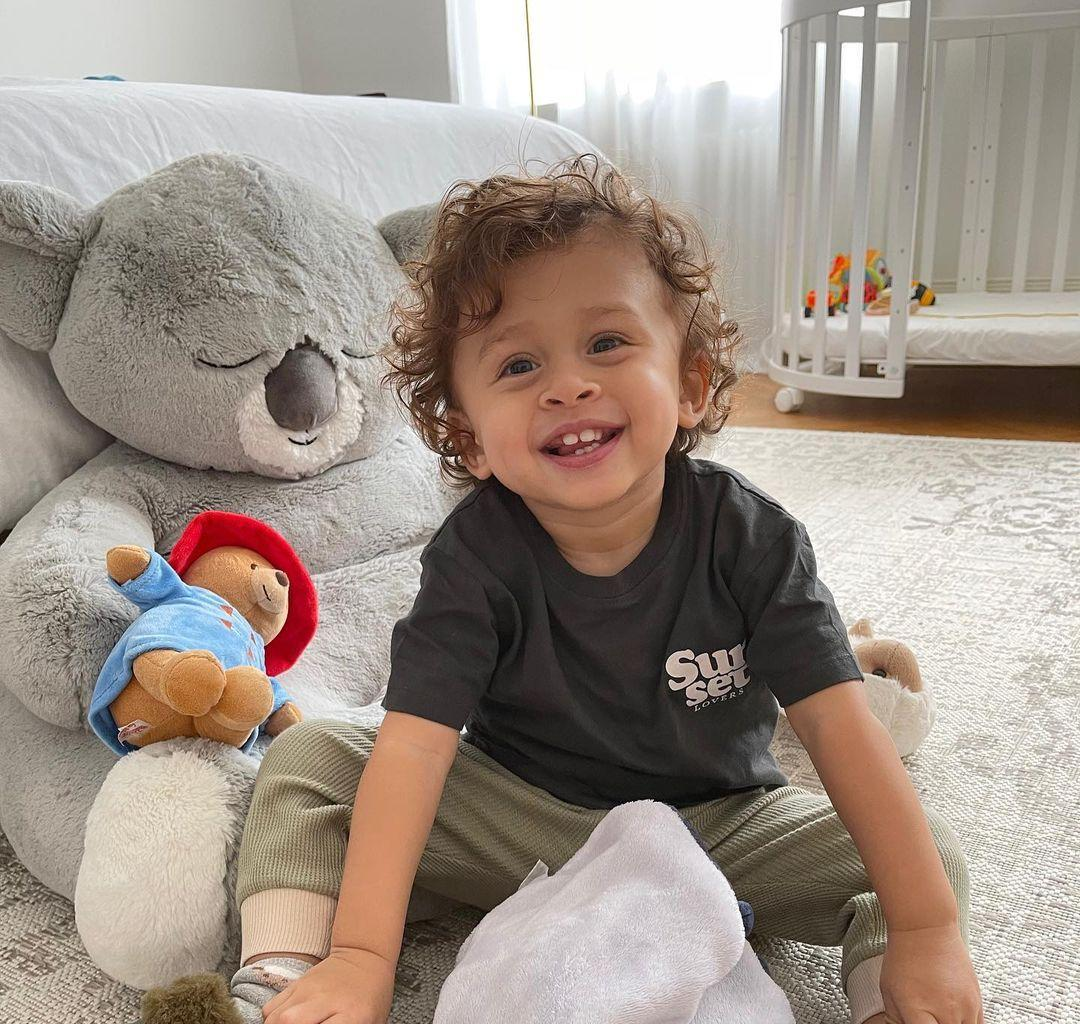 Ammika Harris Will Make Your Day With These Boast Trip Photos Featuring Chris Brown's Son, Aeko