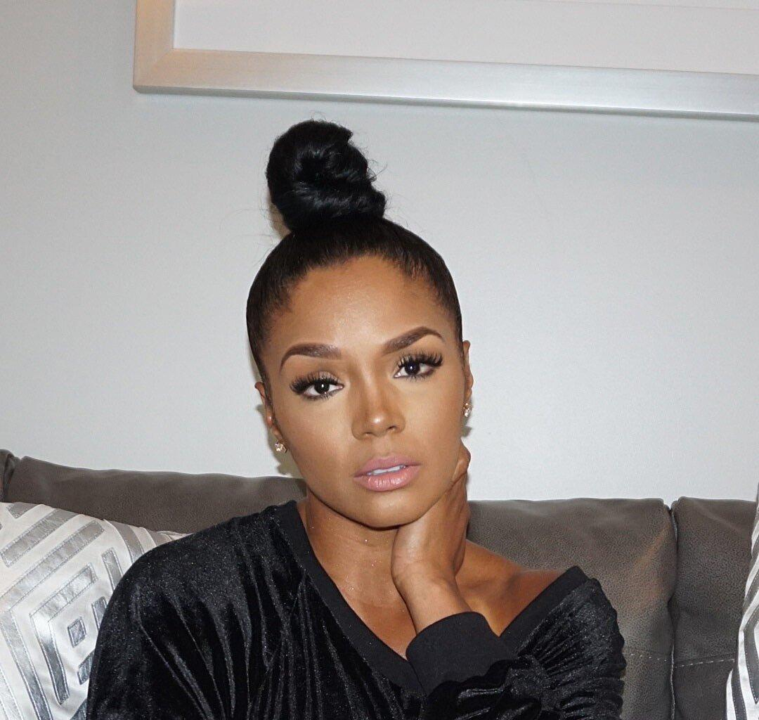 Rasheeda Frost Looks Gorgeous During A Chill Night With Kirk At Frost Bistro