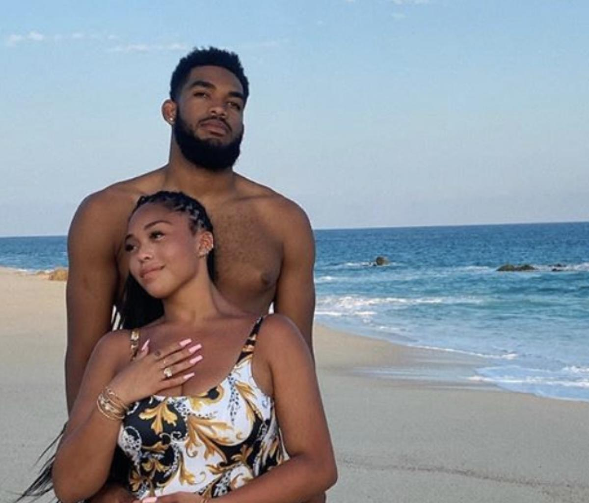 Jorrdyn Woods Poses At The Gym With Her Boo - Check Out Their Toned Bodies