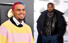 Kanye West's Manager Says That He And Chris Brown Are On Good Terms
