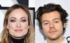 Olivia Wilde Supports Harry Styles At His Las Vegas Concert