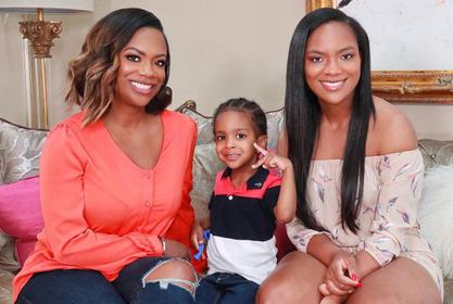 Kandi Burruss Gushes Over Blaze Tucker - Check Out The Baby Girl's Look!