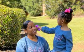 Toya Johnson's Latest Video Featuring Reign Rushing Makes Fans' Day