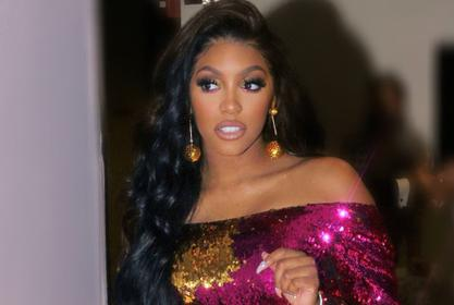 Porsha Williams Tells Fans To Work And Play Hard