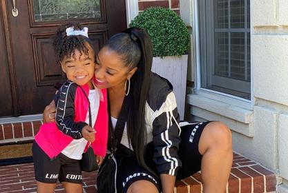 Toya Johnson's Daughter, Reign Rushing Advertises Some Merch And People Cannot Get Enough Of Her